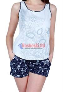 80603 Комплект женский, майка + шорты