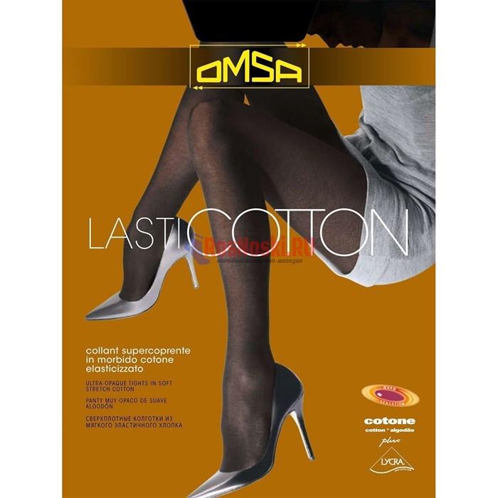 Колготки женские OMSA Lasticotton 100, теплые, из хлопка, с ластовицей - фото 214906