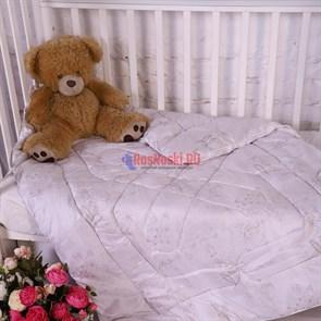 """Одеяло детское утеплённое """"СМ"""", глосс-сатин, лебяжий пух"""