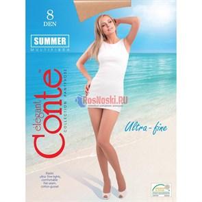 Колготки женские CONTE ELEGANT Summer 8, ультратонкие